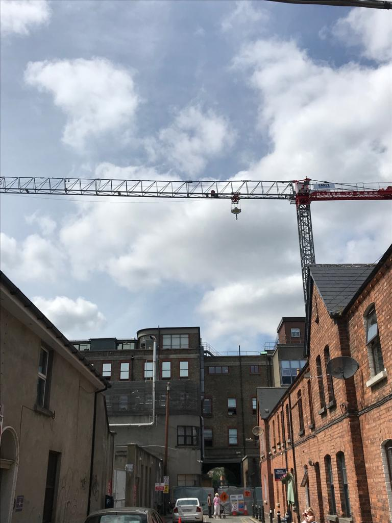 Mantis Cranes | Tower Crane working at the National