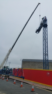 Mantis Cranes Project in Portrush
