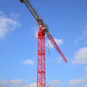 MantisTLS 65 Tower Crane (stock image)