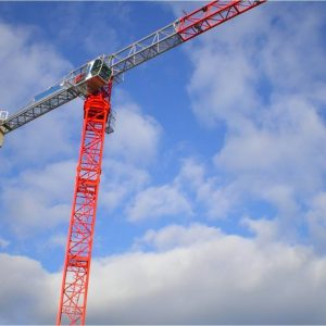 SAEZ TLS65 Tower Crane (stock image)