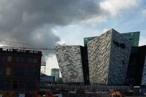 In September Mantis Cranes placed a Pedestrian Operated Tower Crane on the site of the proposed boutique Titanic Hotel in Belfast.