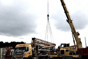 Self Erecting Tower Crane sold to Polish Company
