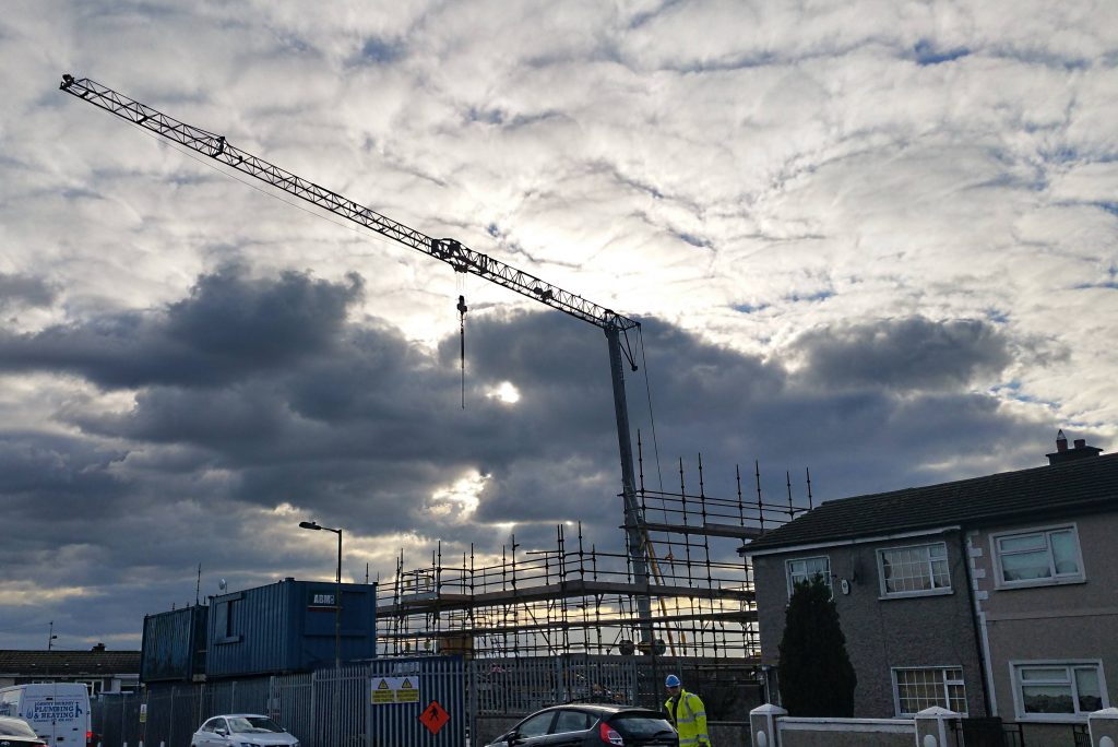 Mantis 35.10 on a Residential Project in Finglas