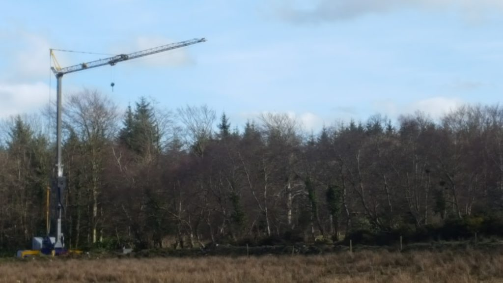Crane Hire Project in Donegal
